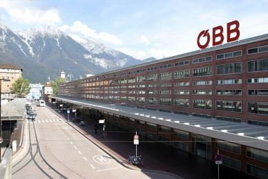 Innsbruck main station